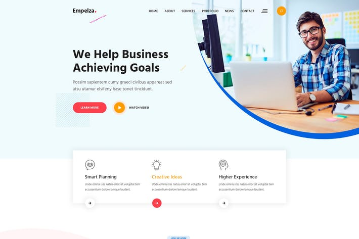 Thumbnail for Empelza - Creative Agency  WordPress Theme
