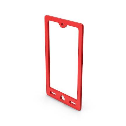 Symbol Smart Phone Red