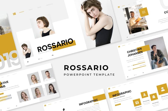 Thumbnail for Rossario - Presentation Template