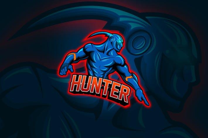 Thumbnail for Hunter - Mascot & Esport Logo