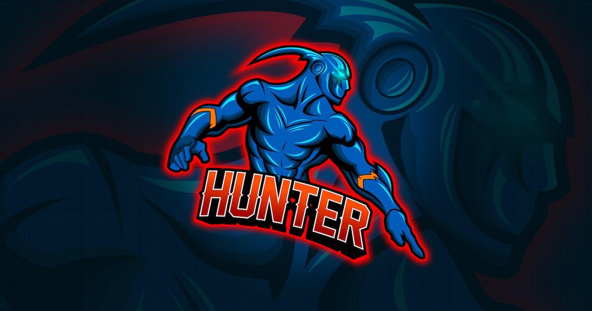 Download Hunter - Mascot & Esport Logo by aqrstudio