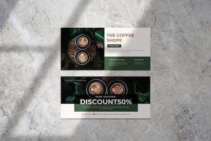 The Coffee Shop Voucher