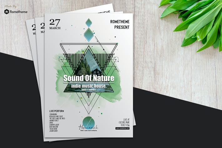 Thumbnail for Music Flyer vol.03