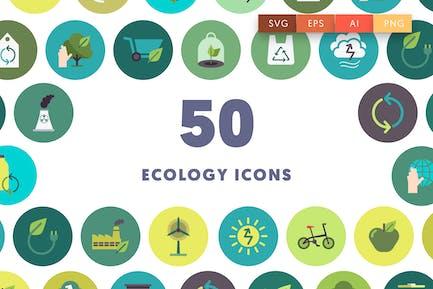 50 Íconos de la ecología