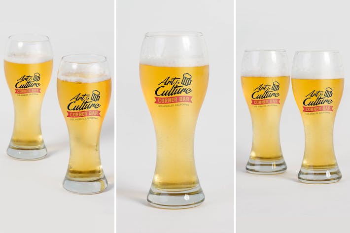 Cover Image For Beer Glass Mock Up