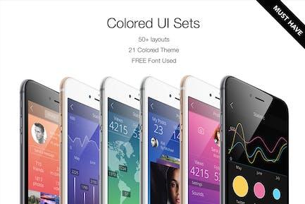 Colored UI Sets 21 Color