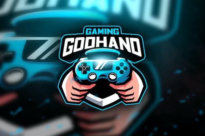 Thumbnail for Godhand - Mascot & Esport Logo
