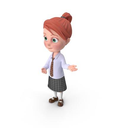 Cartoon Girl Grace Showcase