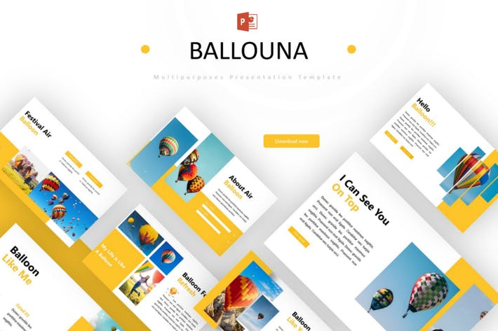 Thumbnail for Ballouna - Powerpoint Template