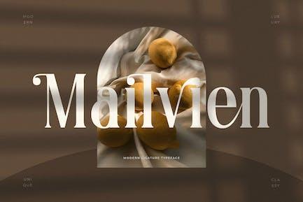 Mailvien - Modern Ligature Typeface