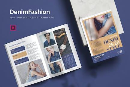 Denim Fashion - Magazine
