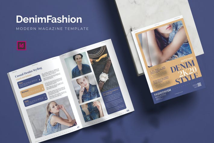 Thumbnail for Denim Fashion - Magazine