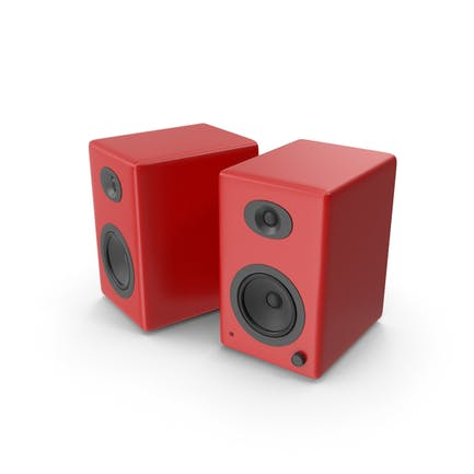 Red Speakers