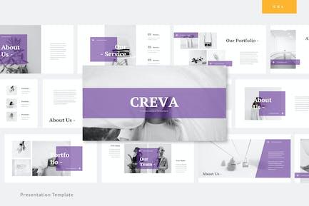 Creva - Creative Google Slides Template