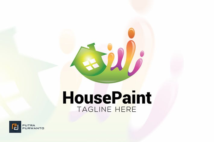 Thumbnail for House Paint - Logo Template