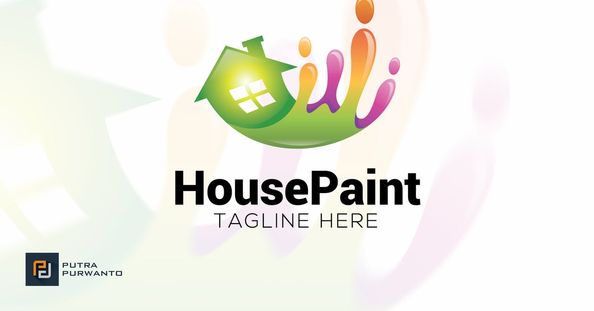 Download House Paint - Logo Template by putra_purwanto