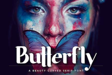Fuente de la belleza de la mariposa
