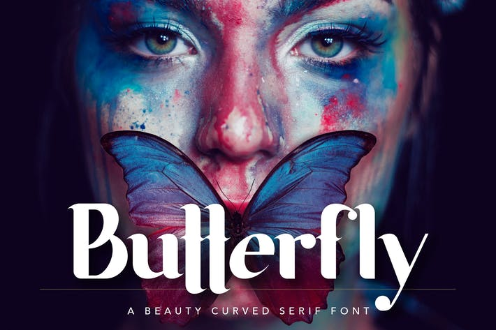 Thumbnail for Butterfly Beauty Font
