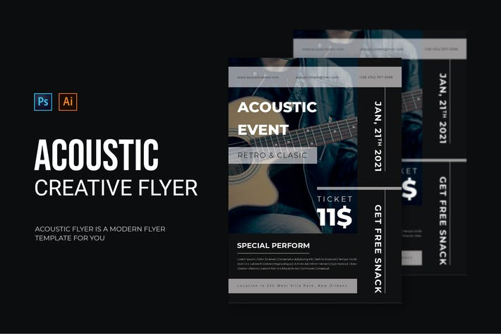 Acoustic Event - Flyer