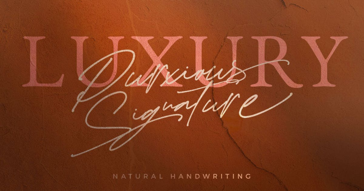 Download Purxious Signature by dirtylinestudio