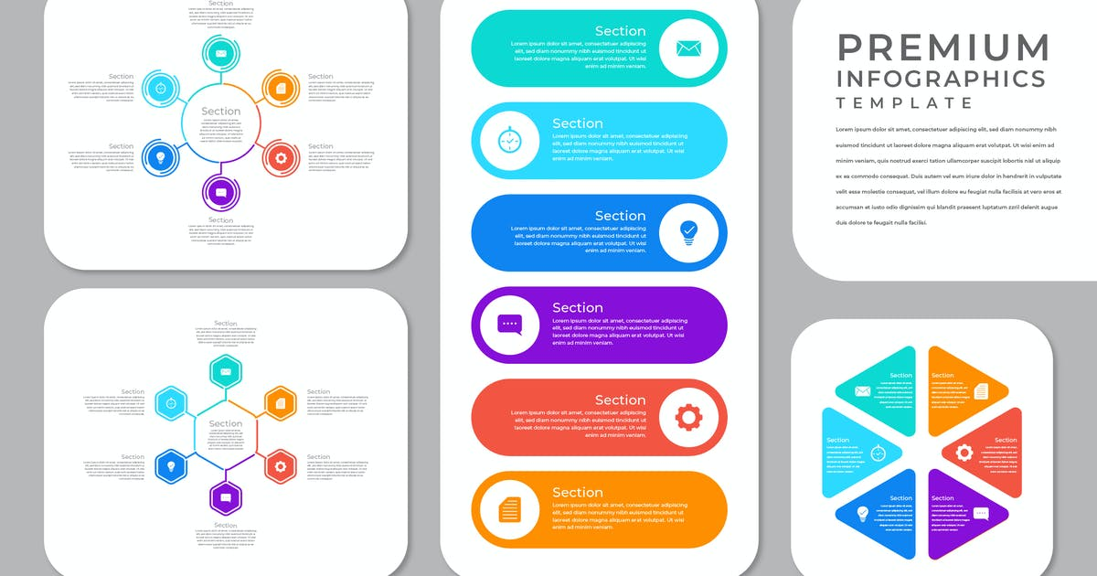 Download Corporate Infographic - iWantemp by GranzCreative