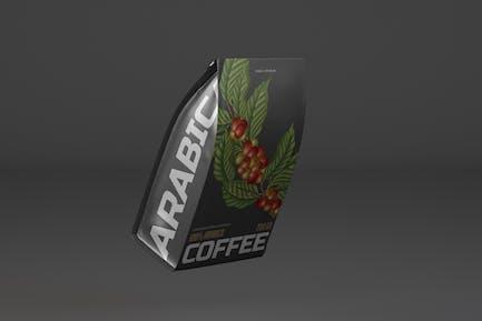 Kaffeebeutel Mockup