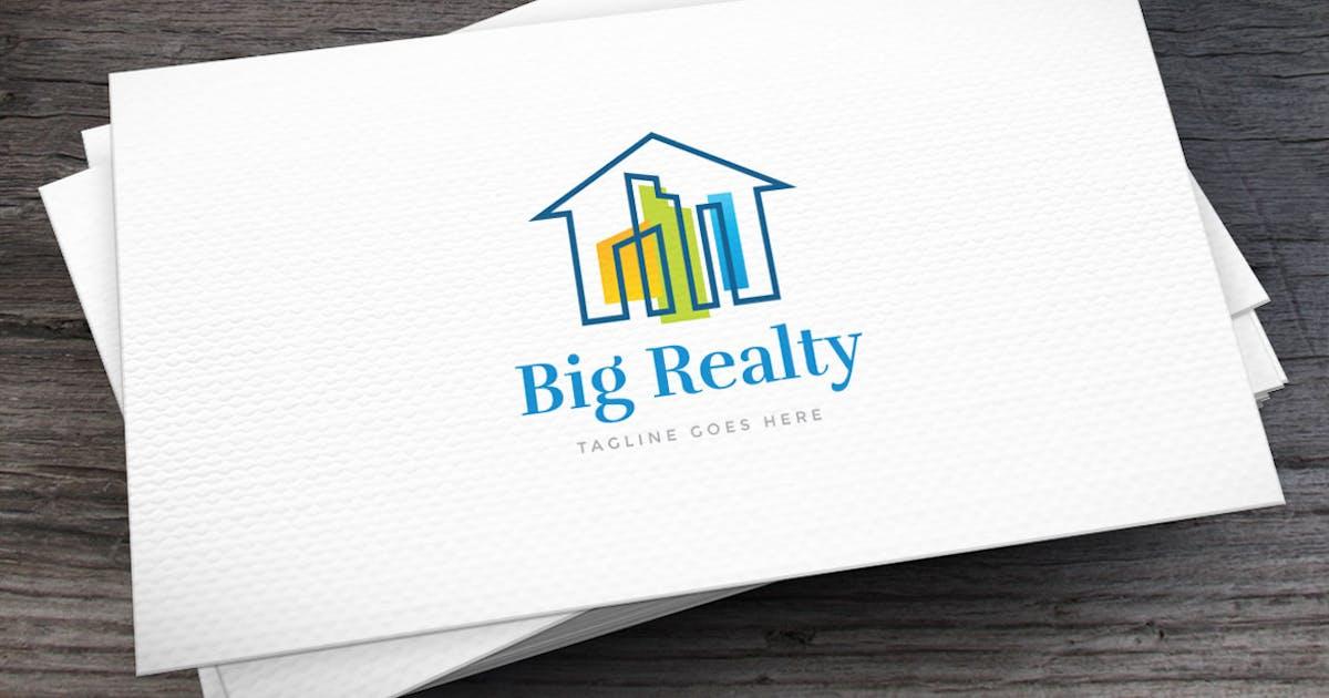 Big Realty Logo Template by empativo