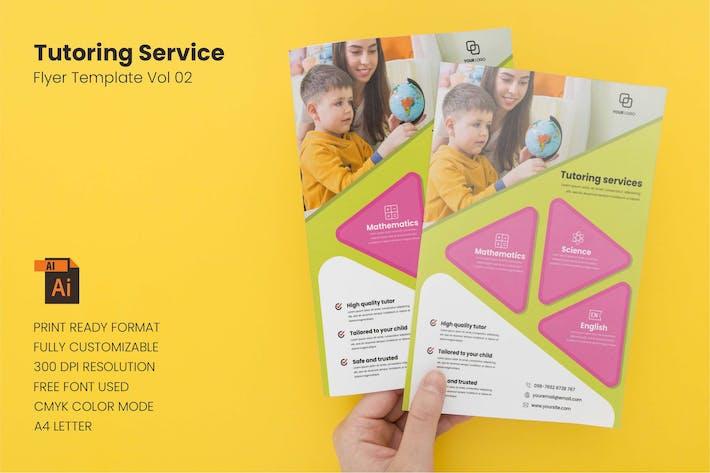 Tutoring Service - Flyer Template Vol. 02