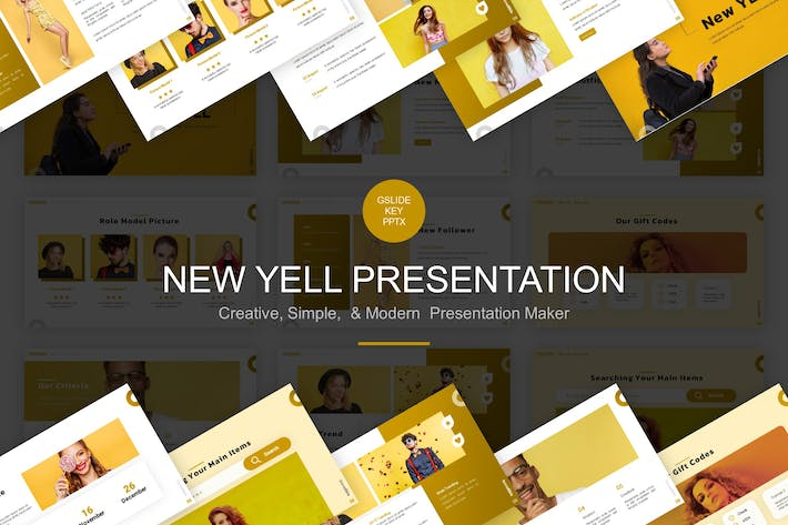 Thumbnail for New Yell Presentation Template