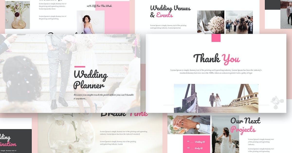 Download Wedding Organizer Keynote Template by giantdesign
