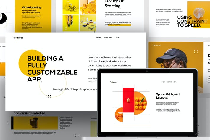 Thumbnail for Feature - Brand Guidline Business Keynote