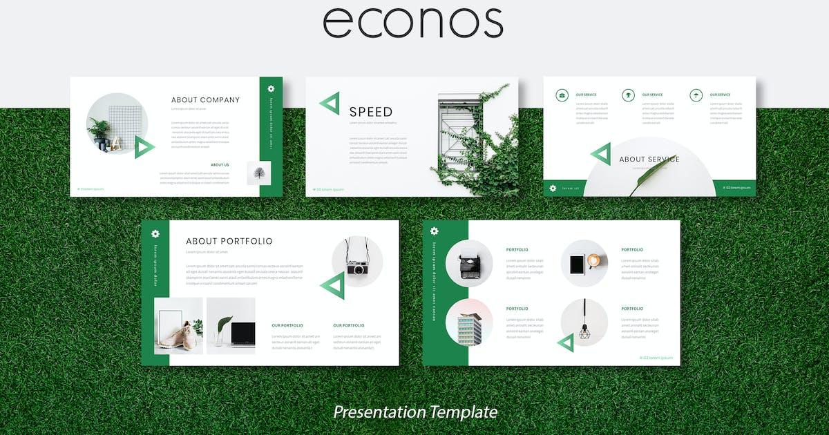 Download Econos - Creative Keynote Presentation Template by naulicrea