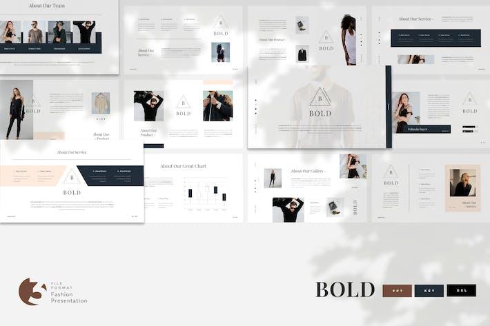 Thumbnail for Bold - Fashion Presentation Template