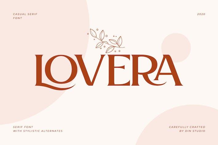 Thumbnail for Lovera-Elegant Serif Font