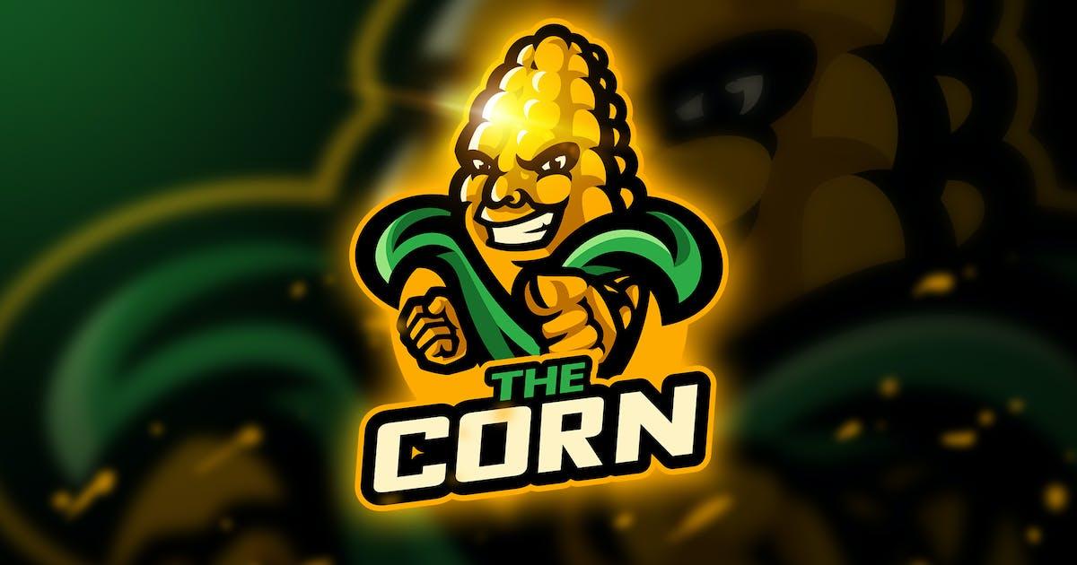 Download The Corn - Mascot & Esport Logo by aqrstudio