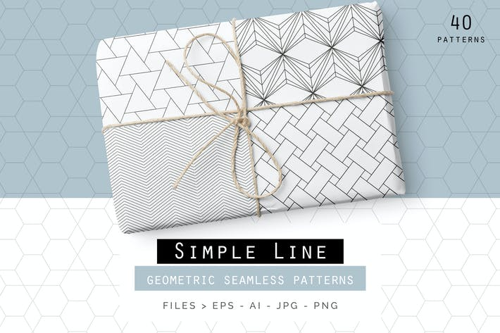 Thumbnail for Simple Line Geometric Patterns