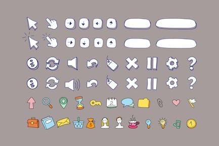 Pen & Color Icons