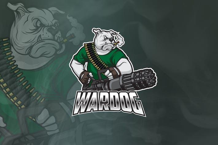 Thumbnail for WarDog - Логотип талисмана и Esport