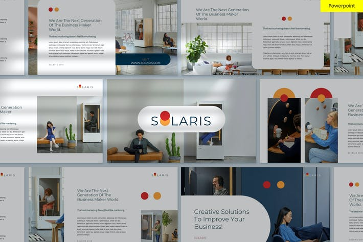 Thumbnail for Solaris - Clean & Minimal Powerpoint Template