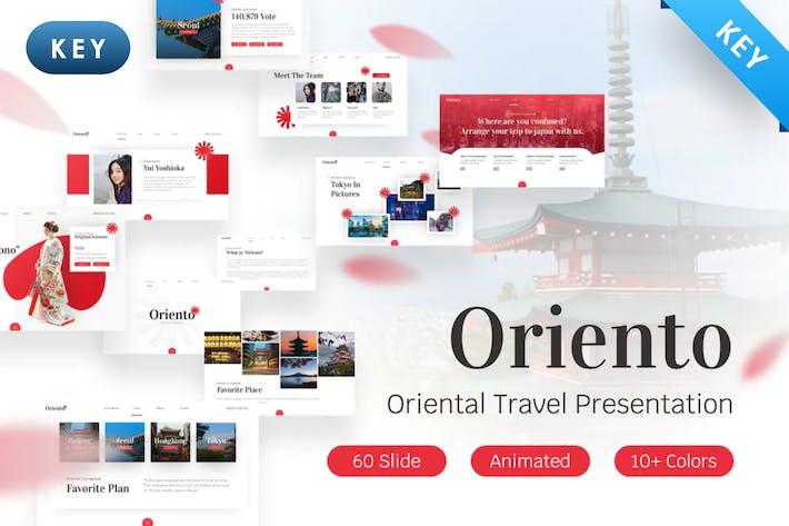 Thumbnail for Oriento Tourism Keynote Template