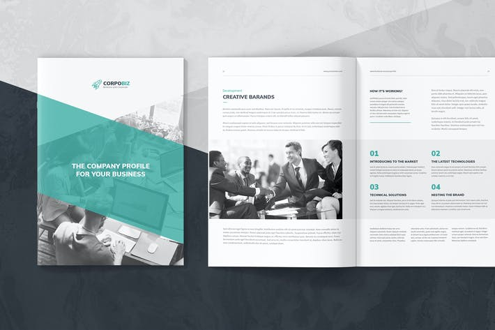 Thumbnail for CorpoBiz – Business and Corporate Company Profile