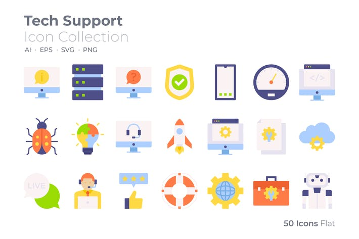 Tech Support Color Icon