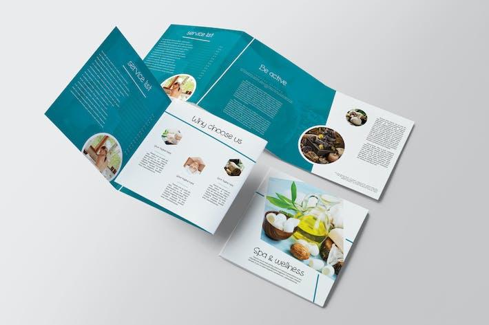 Spa & Wellness Square Brochure