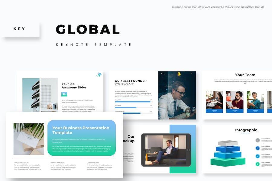 Global - Keynote Vorlage