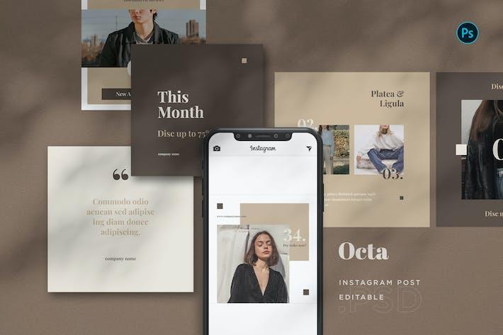 Thumbnail for Octa - Fashion Intagram Post BL