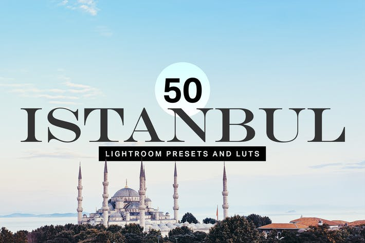 Thumbnail for 50 Istanbul Travel Lightroom Presets and LUTs