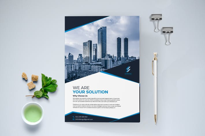 Thumbnail for Modern Business Brochure Bi-Fold