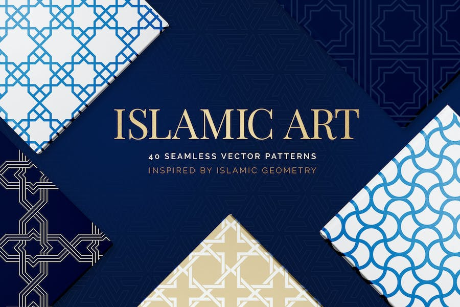 Islamic Art Vector Patterns