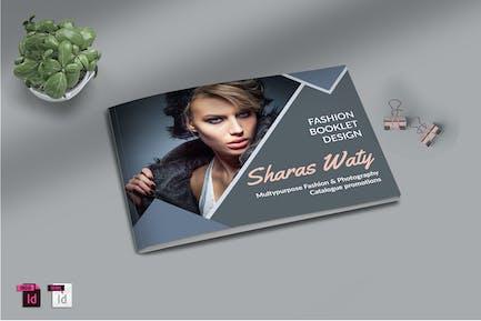 SHARAS WATY - A4 Fashion Print Template