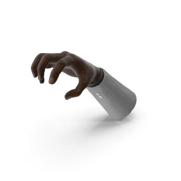 Suit Black Hand Grip Pose